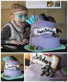 'How to Train Your Dragon 2' Cake. Plus other great Party Ideas!