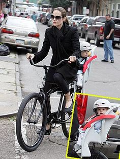 Anjelina Jolie and Shiloh Jolie-Pitt  People Magazine  Photo by Ralph Notaro/NDM Images