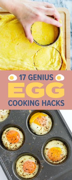 17 Egg-Cooking Hacks That Are Borderline Genius 17 Genius Egg Cooking Hacks You'll Want To Try I Cooking For One, Fun Cooking, Cooking Tips, Cooking Recipes, Beginner Cooking, Cooking Classes, Cooking Light, Cooking Steak, Cooking Quotes