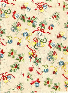 vintage christmad gift wrap xmas wrapping paper vintage wrapping paper christmas gift wrapping - Vintage Christmas Wrapping Paper
