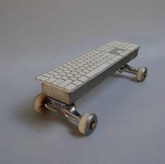 Mac keyboard skateboard