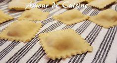 raviolis fait maison, pate à ravioles - Amour de cuisine