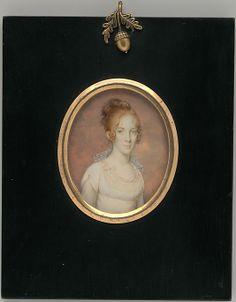 """Margaret Blake Bowen"", Jean François de la Valee, ca. 1805; MMA 37.54.2"