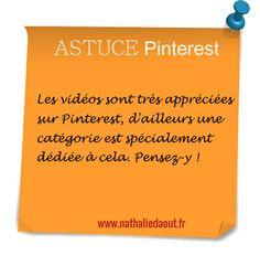www.nathaliedaout.fr #Pinterest #astuce Très bon conseil de cette experte pinterest