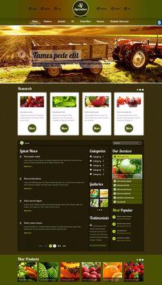 SJ Agriculture Joomla VirtueMart Template