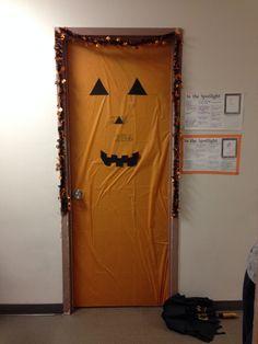 Dorm decoration for Halloween