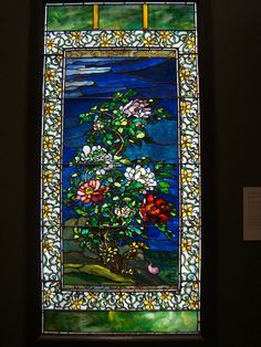John LaFarge, stained glass  Nelson-Atkins Museum of Art