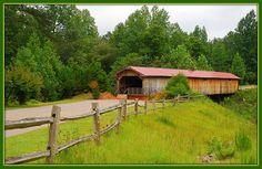 Covered Bridge near Sanford, North Carolina.