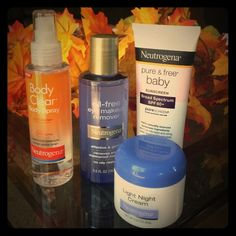 Neutrogena Bundle✨ NO Trades all request ignored Upclose pic speak for themselves Bundle includes BODY CLEAR Body Spray, Pure & Free Baby Sunscreen, Oil-free Eye makeup remover and Light Night Cream Neutrogena Other