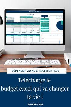 Budget Excel, Faire Son Budget, Minimum, Budgeting Finances, Exactement, School, Internet, Journal, Day Planners