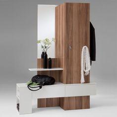 The Apartment | Hallway | Furniture | Shoe Cabinet | Storage | Torino White/Plumtree Hallway Stand £139