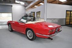 Herando - Maserati Mistrale Spyder, one of 12 RHD Ferrari California, Classic Sports Cars, Maserati, Vehicles, Autos, Convertible, Automobile, Car, Vehicle