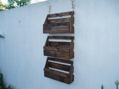 repisas madera rustica - Buscar con Google