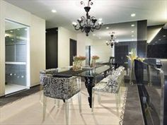 Scarica sfondi cucina moderna di design, blu, armadietti, cucina di ...
