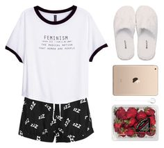 """Moonlight"" by i-poop-unicorns ❤ liked on Polyvore featuring MINKPINK, H&M, GANT and FRUIT"