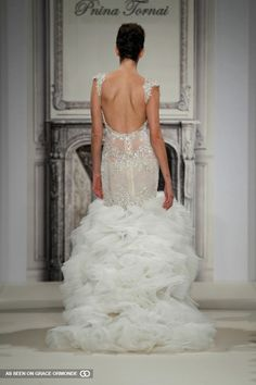 pnina tornai exclusively for kleinfeld bridal gown 2014