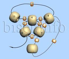Тетраэдр | Все о Бисере.Бисероплетение,Рукоделие,Бисер,Beads