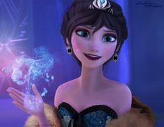 Evil Elsa (aka what would have happened if they had gone with the original concept)
