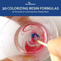 We've made the creative process even easier with 20 color formulas for mixing Nunn Design Resin with Castin' Craft Opaque Pigments! Now you can select a color and get mixing!Related Resin Blog Posts:If you are new to mixing resin, or even advanced, you might want to read some previous blog ...