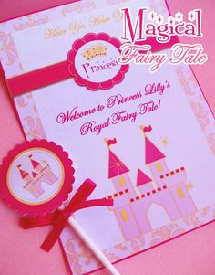 Princess Party Graphics