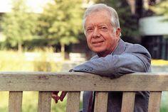 Jimmy Carter slams Netanyahu for turning his back on peace.