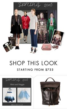 """""""Untitled #24852"""" by lizmuller ❤ liked on Polyvore featuring Marni, Gucci, Balenciaga, DKNY, Erdem, DESA, women's clothing, women's fashion, women and female"""