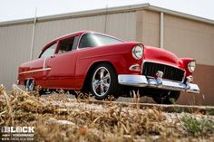 Fritz's '55 Bel Air Honors 50 Years of Chevrolet Performance - The BLOCK Feature Car | The BLOCK