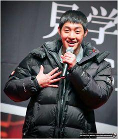 Kim Hyun Joong 김현중 at Inspiring Generation 감격시대 Shooting Tour/Fanmeet at Seoul by MURDERERQ[Feb 15,2014] - Who, me?
