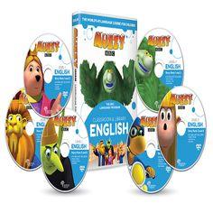 Muzzy BBC anglais pour enfants 6 DVD et Cours en ligne est une méthode globale pour apprendre l'anglais en immersion en s'amusant ! Créé par la BBC, Muzzy cours N°1 dans le monde depuis 25 ans revient dans une version 3D : 1800 mots, 190 jeux, 101 vidéos, chansons, activités imprimables, studio d'enregistrement.