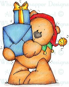 Bailey Bear - Christmas Images - Christmas - Rubber Stamps - Shop