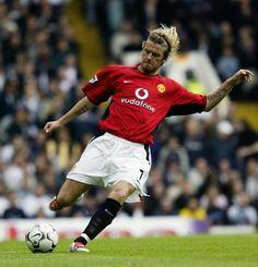 David Beckham on Manchester United