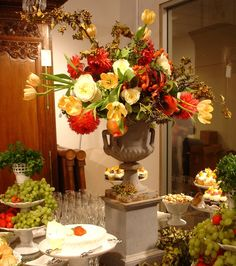 Fall Wedding Bouquets | Gorgeous Fall Flowers for Antiques on 5 | Petalena: Creative Designs ...