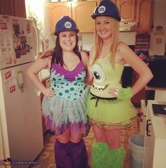 Kerstyn: My best friend and I wanted to do something original for Halloween, so we decided to go as Mike and Sully from Monster's Inc. We bought some of the items...