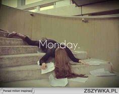 Monday left me broken...