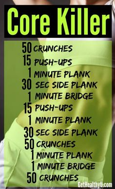 Great core/ab series.