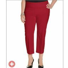 Alfani Plus Size Pull-On Capri Pants Alfani Plus Size Pull-On Capri Pants Alfani Pants Capris