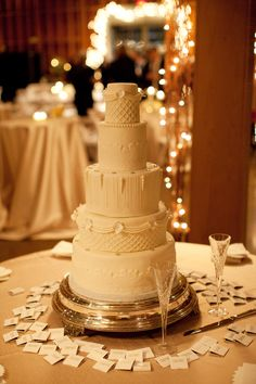 """classic white cake- reminds me of """"father of the bride"""""""