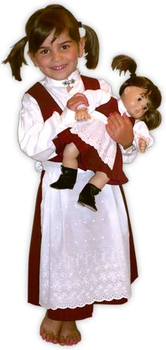 Norwegian Bunad Costumes | Norsk Needle - Norwegian Costumes for Children and 15 and 18 inch ...