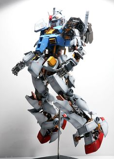 How to Improve a PG 1/60 RX-78-2 Gundam Ver.Full Hatch Open. Full photoreview No.42 Hi Res Images | GUNJAP