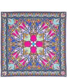 New Ianthe 70x70 Silk Scarf
