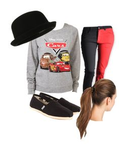 """""""Disney Cars Outfit"""" by mbug31301 ❤ liked on Polyvore"""
