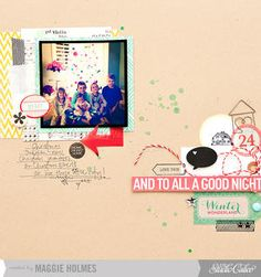 And to all a Good Night by maggie holmes at Studio Calico Dec Kit