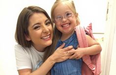 Valentina Guerrero, la pequeña modelo hispana con síndrome de Down que desfila para Gap Kids
