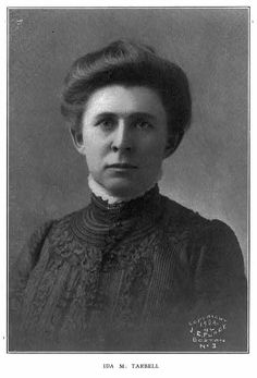 Ida Tarbell is one of the writers that worked for the McClure Magazine.  McClure recuited her to write for the publication.  He flew her to New York from Britian.  Tarbell was more than just a writer, she assist with the everyday opertation of the magazine.  This image was used in Tarbell's book titled All in a days work.  Johnston, Frances Benjamin. Ida M. Tarbell. 1905. Photograph. Library of Congress Prints and Photographs, Washington D.C.