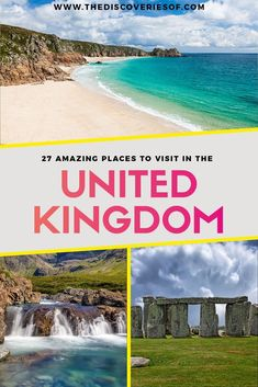27 Unmissable United Kingdom Travel Destinations. The Ultimate Great Britain bucket list. London, Cornwall, Scotland and much more. Plus insider tips. Read now | United Kingdom Travel | United Kingdom Travel Tips | Europe Travel |