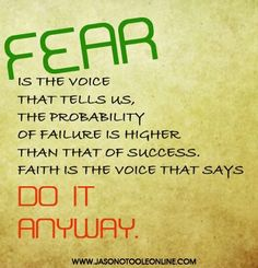 Fear is the tool the devil uses most. Because it paralyzes you. It holds you back from moving forward into your purpose. The devil is a LIAR! You can do all things through Christ who gives you strength. Facing Fear, Personal Growth Quotes, Inspirational Words Of Wisdom, Positive Inspiration, Motivation Inspiration, Have Faith In Yourself, Life Thoughts, Faith Quotes, Positive Affirmations