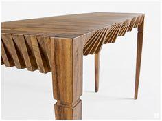 Cortina Table by Sebastián Lara