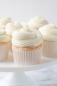 Lemon Berry Angel Food Cupcakes - The Cake Merchant