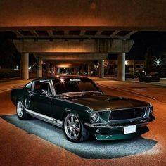 1967 Mustang #mustangvintagecars