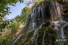 The Green Rock Waterfall and Devetashka Cave, Bulgaria